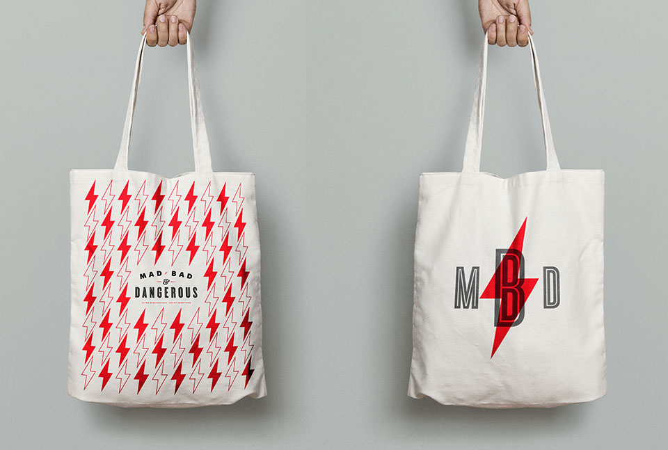 Tiny Giant - Mad, Bad, & Dangerous - Swag / Totes