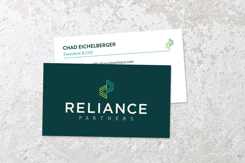 Tiny Giant - Reliance Partners - Business Cards