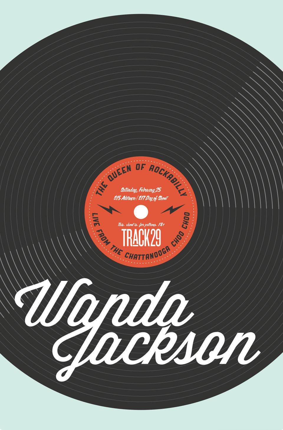 Tiny Giant - Track 29 - Wanda Jackson Poster