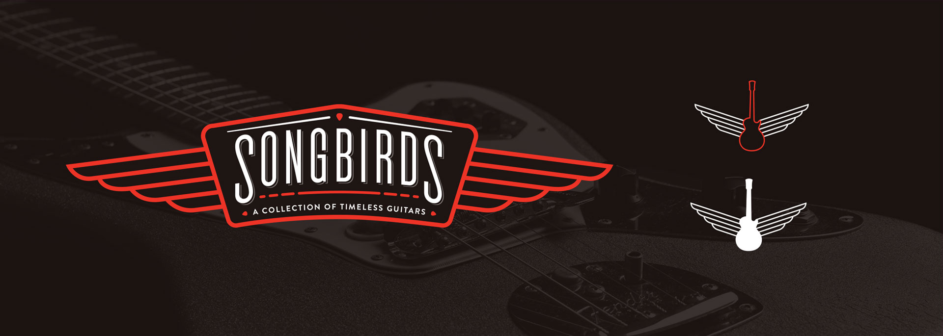 Songbirds Guitars - Branding, Identity, Logos, Social Media Icons