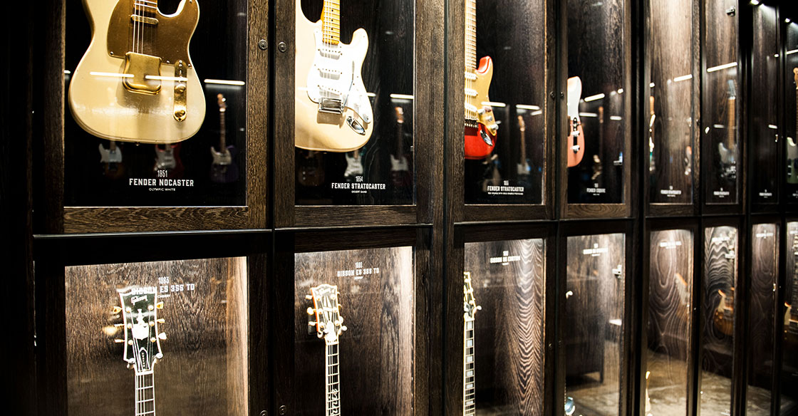 Songbirds Guitars - Branding, Identity, Logos, Museum Displays