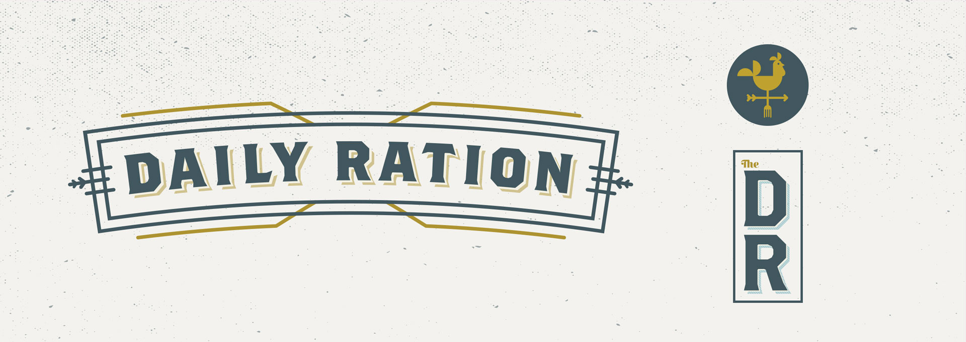 Tiny Giant - The Daily Ration - Brand Identity