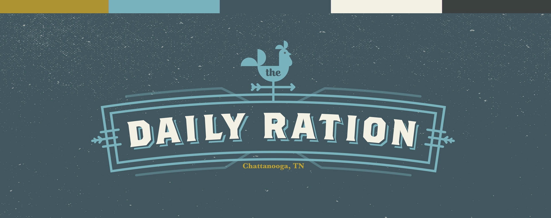 Tiny Giant - The Daily Ration - Logo / Color Palette