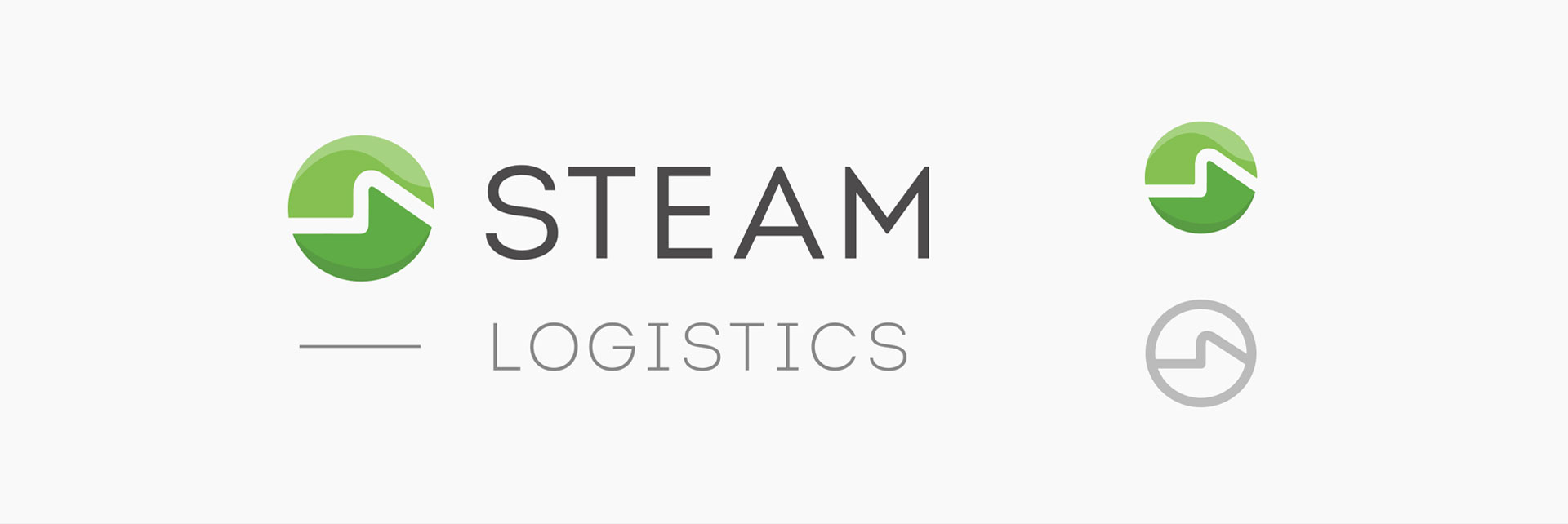 Tiny Giant - Steam Logistics - Brand Identity