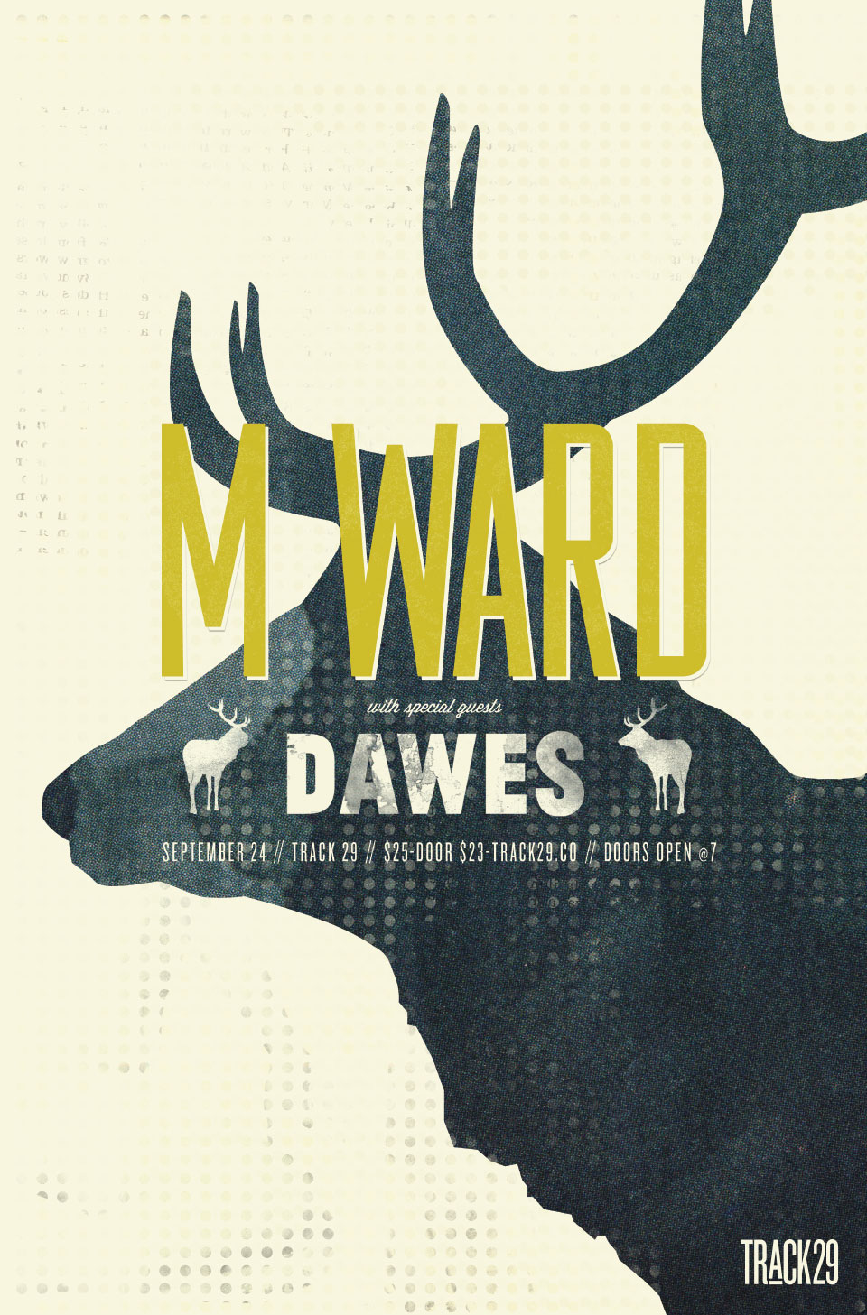 Tiny Giant - Track 29 - M. Ward and Dawes Poster