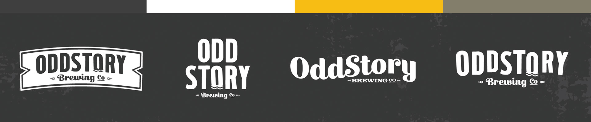 OddStory Brewing Co. - Identity, Logos, Color Palette, Branding