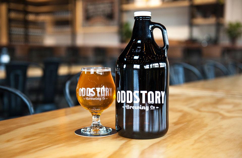 OddStory Brewing Co. - Identity, Logos, Branding, Glassware