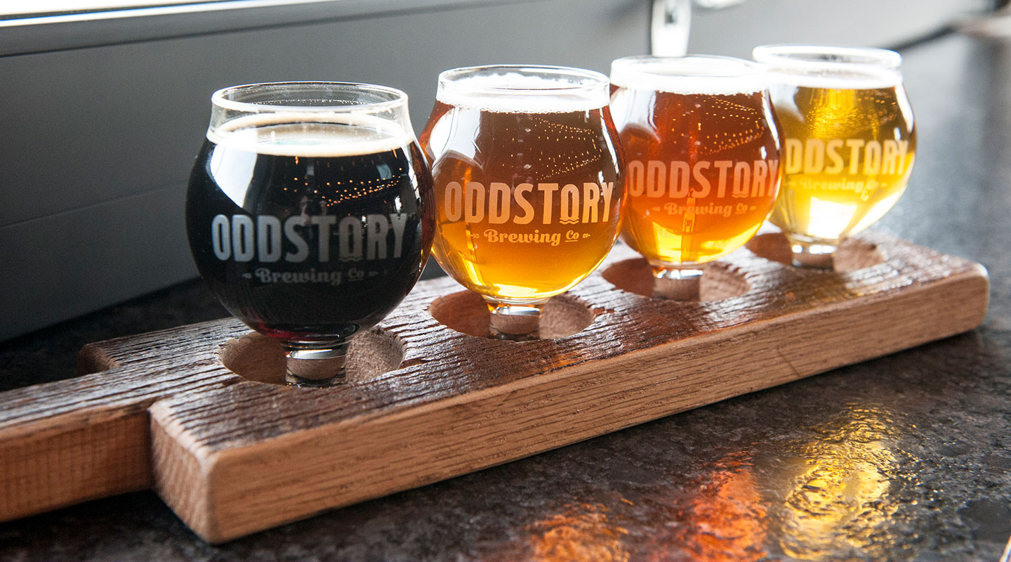 OddStory Brewing Co. - Identity, Logos, Branding, Glassware, Beer Paddles
