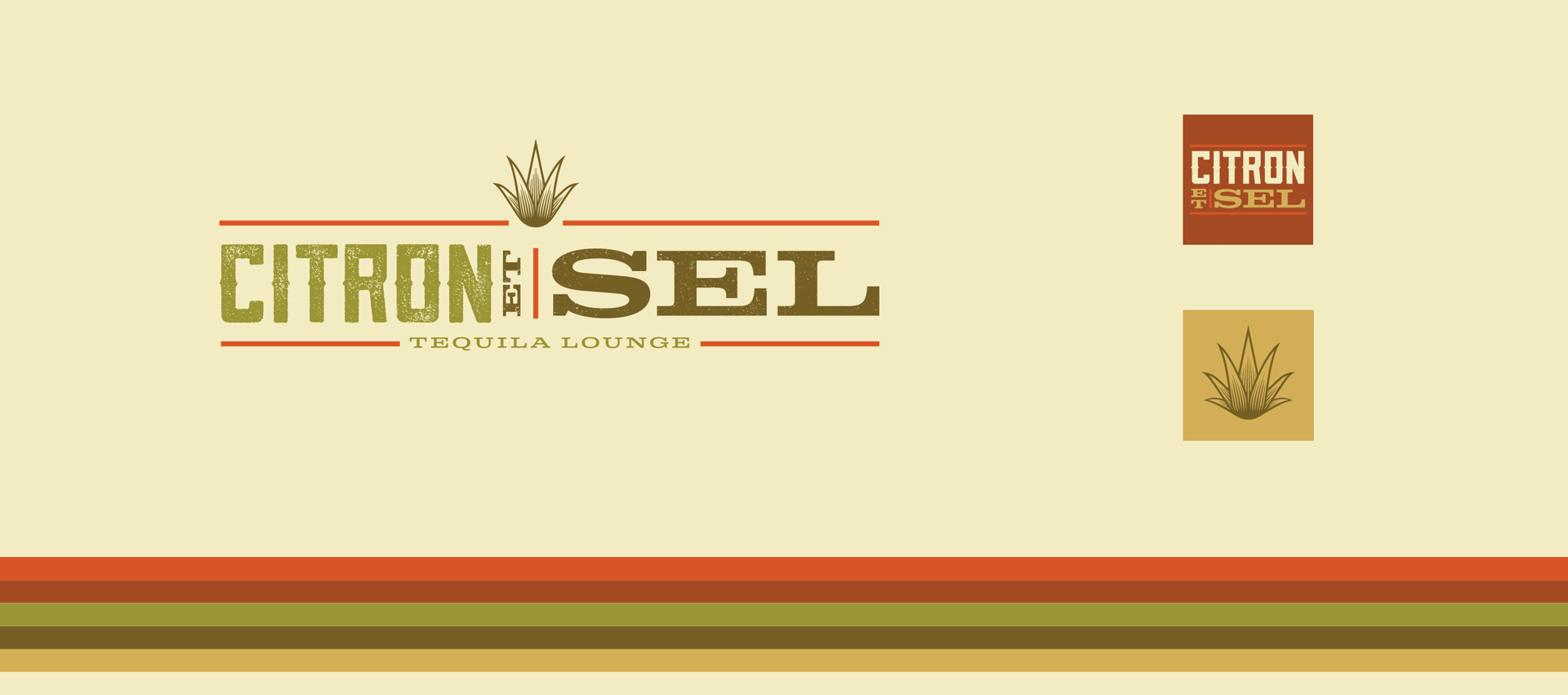 Citron et Sel - Brand Identity, Logo design, Branding, Color Palette