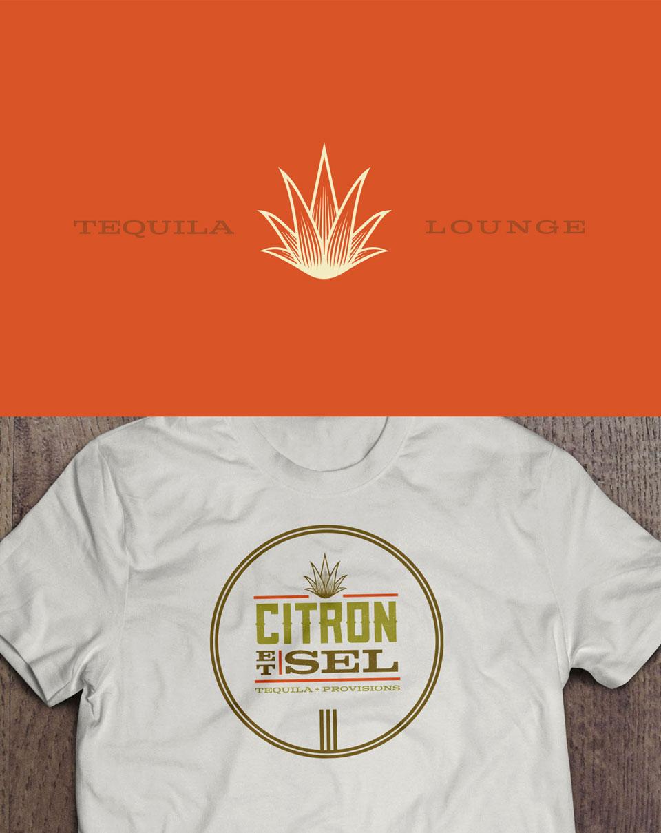 Citron et Sel - Brand Identity, Logo design, Branding, Print Design, T-Shirt Design