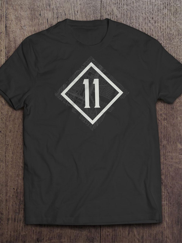 Gate 11 Distillery - Branding, Identity Design, Logos, T-Shirt Design
