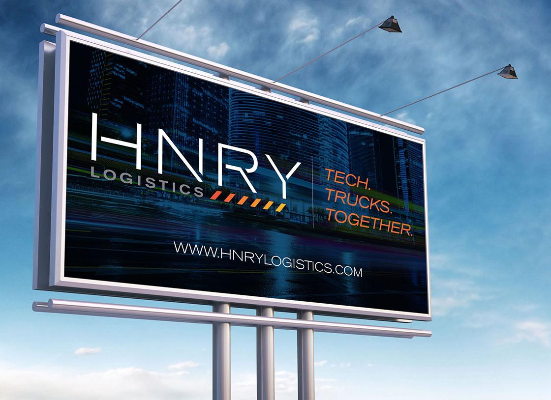 HNRY - Branding, Print Design, Billboard Design