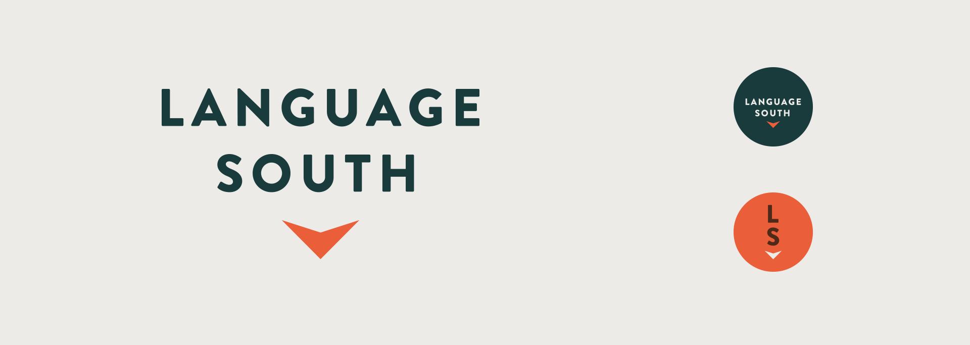 Language South - Brand Identity, Logos