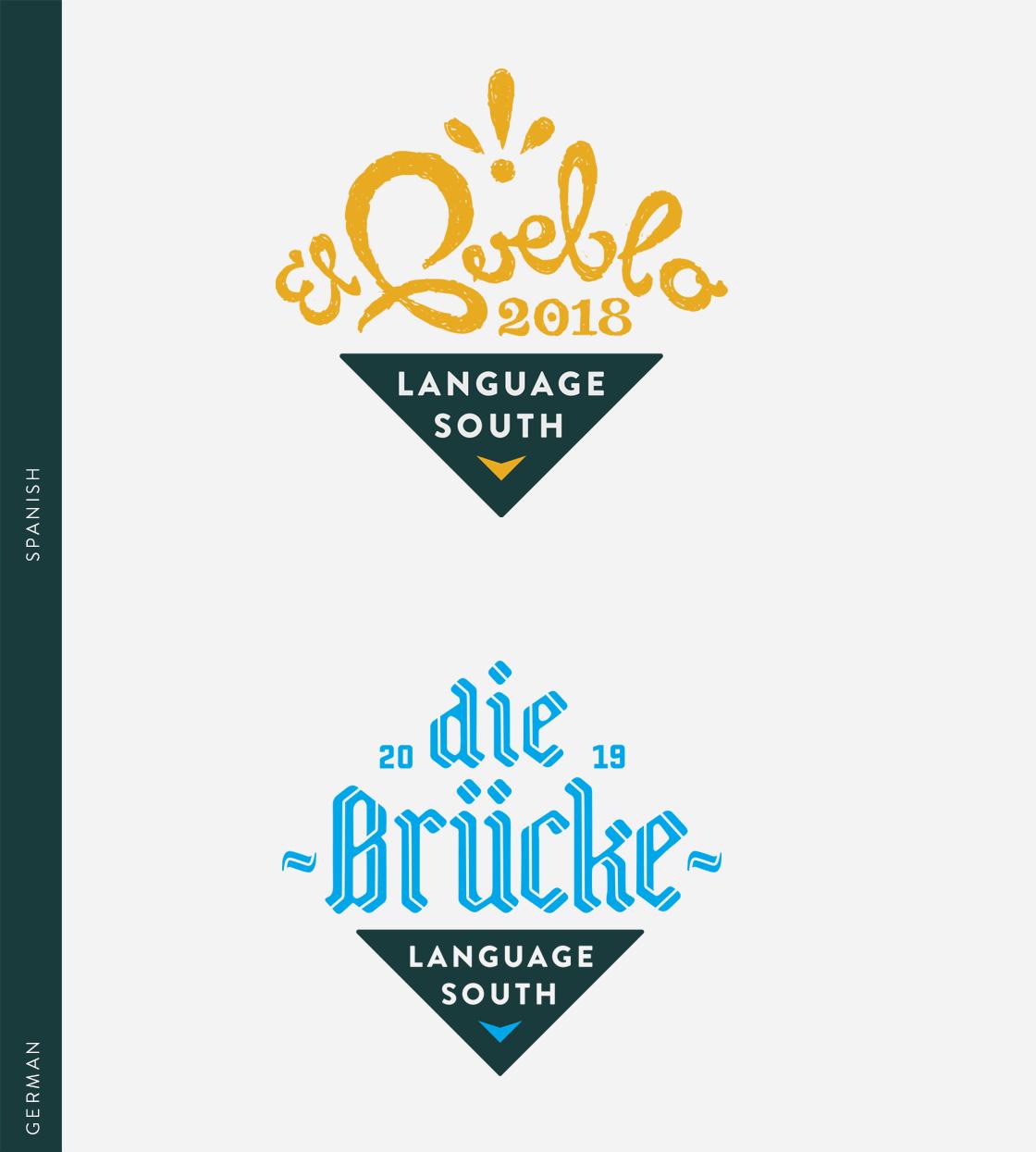 Language South - Ingredient Branding, Brand Strategy, Logos