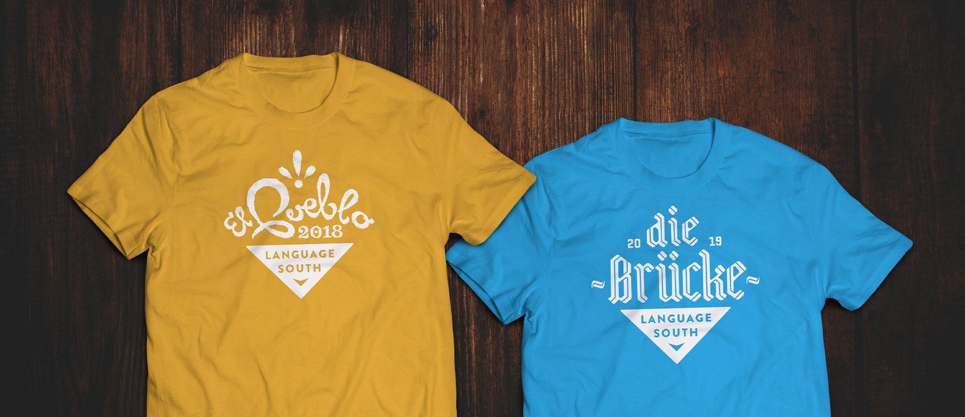 Language South - Print Design, T-Shirt Design, Identity Design, Logos