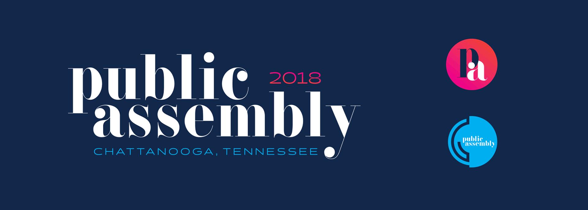 Public Assembly - Branding, Identity Design, Logo Design