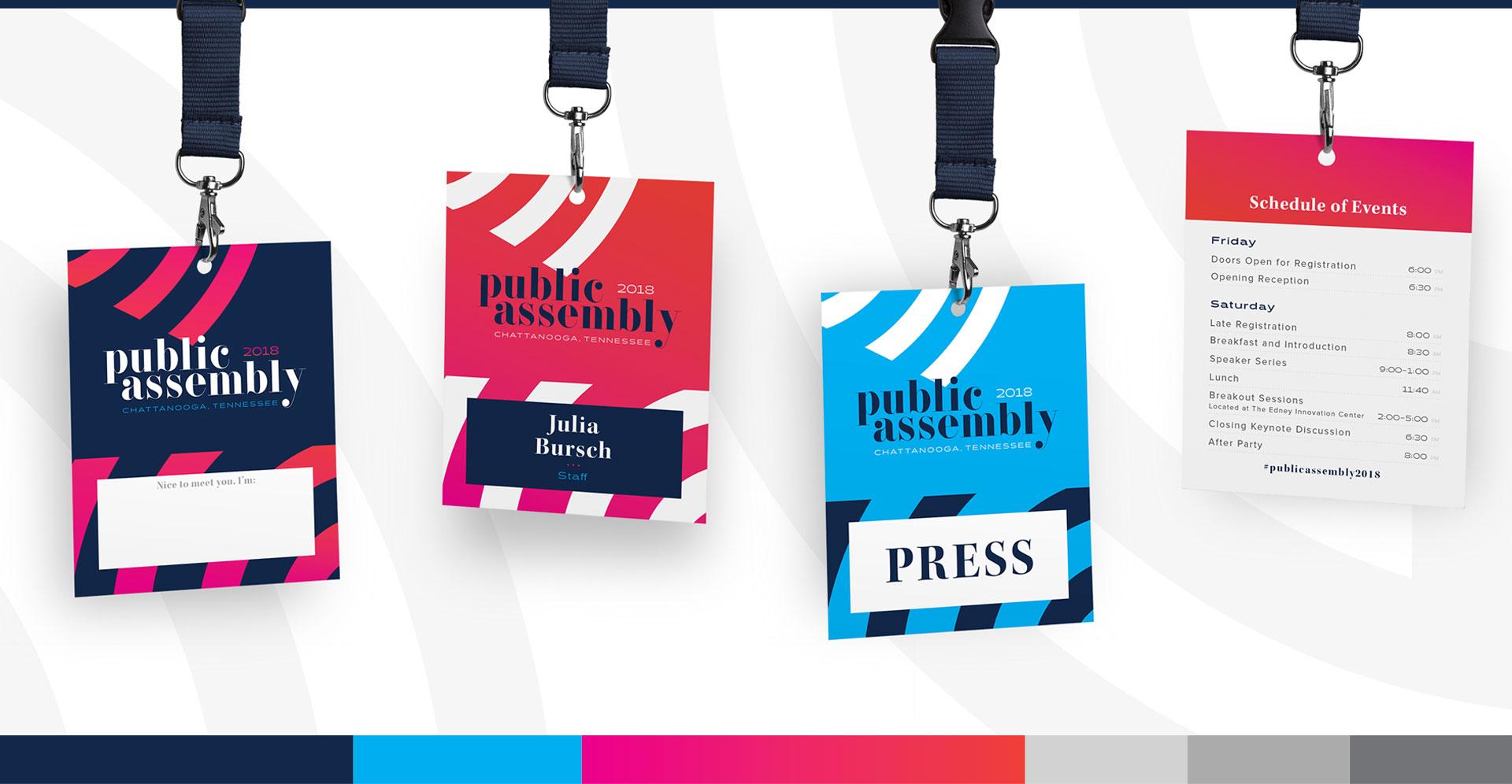 Public Assembly - Branding, Identity Design, Logo Design, Print Design