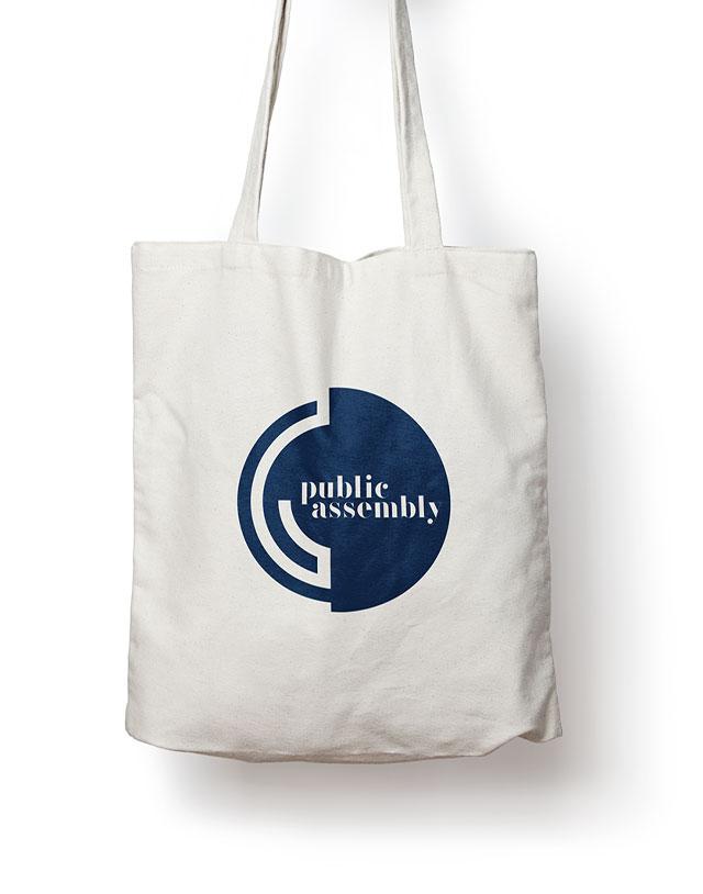 Public Assembly - Branding, Print Design, Swag Design