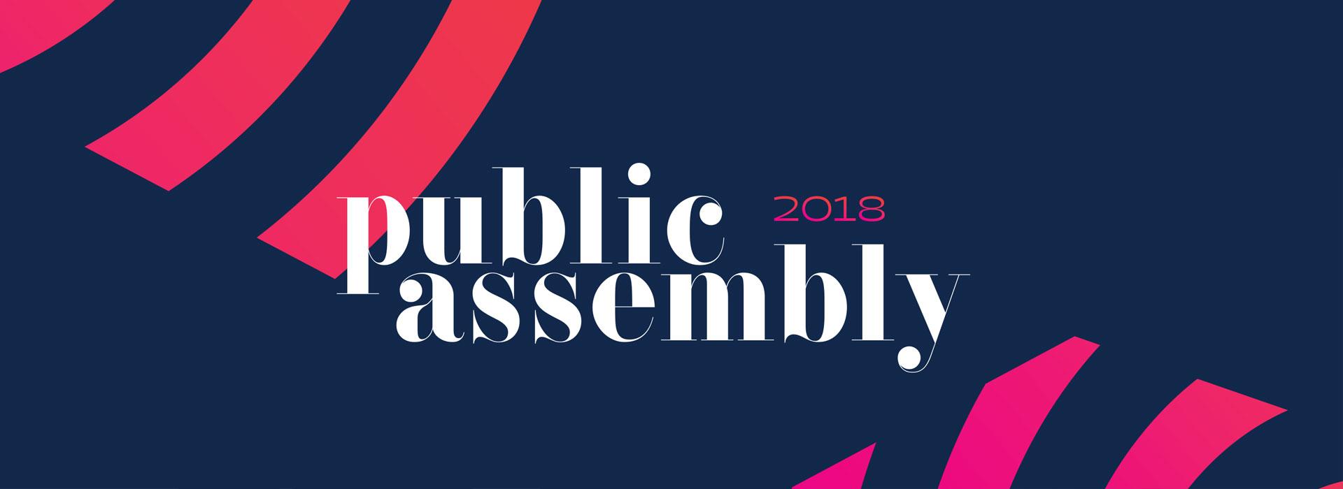 Public Assembly - Branding, Logo Design, Identity Design